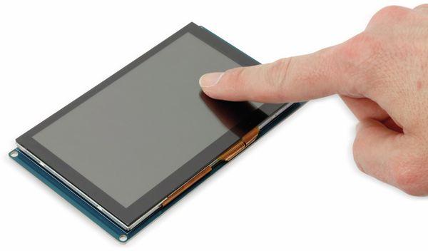 """Touchscreen Display 5"""" für RPi, BBB, PC - Produktbild 4"""