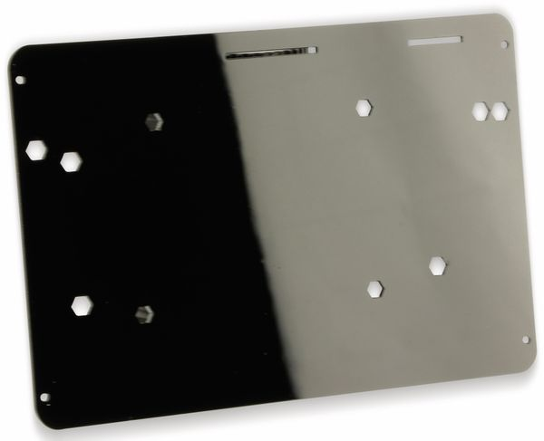 "Acrylgehäuse Kit für 7"" LCD Display mit Touchscreen - Produktbild 2"