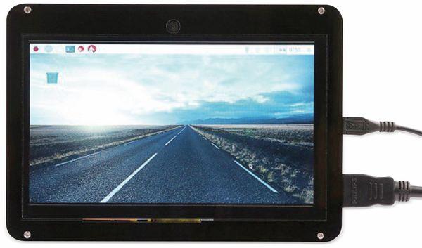 "LC-Display 7"" (17,8 cm), mit kap. Touchscreen, HDMI, Kamera, Acrylgehäuse"