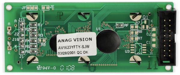 LCD-Modul, ANAG VISION, AV1623YFTY-SJW, 16X2 - Produktbild 3