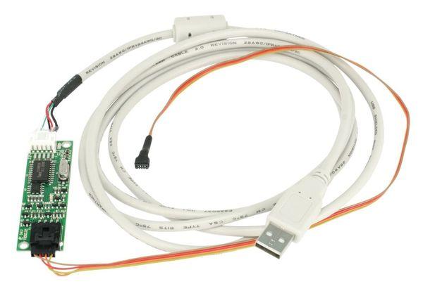 "LCD-SET LS-8T, 8"", 1024x768, Touch, HDMI/DVI/VGA/CVBS, 12V-, B-Ware - Produktbild 6"
