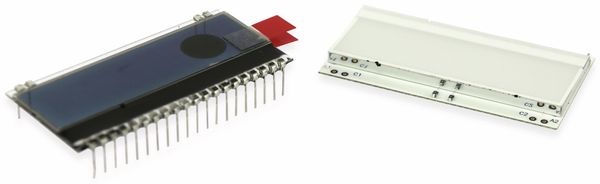 LC-Display, ELECTRONIC ASSEMBLY, DOGM163S-A, 3x16 Zeichen, Gelb/Grün