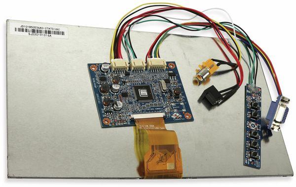 "10,1"" (25,65 cm) Display-Set PT80M03/JD101B50D36A0, CVBS/VGA - Produktbild 2"