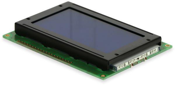 LC-Display, GSR Technology, GSR12864AVA23-BIW-R, 128x64 Pixel, blau - Produktbild 2