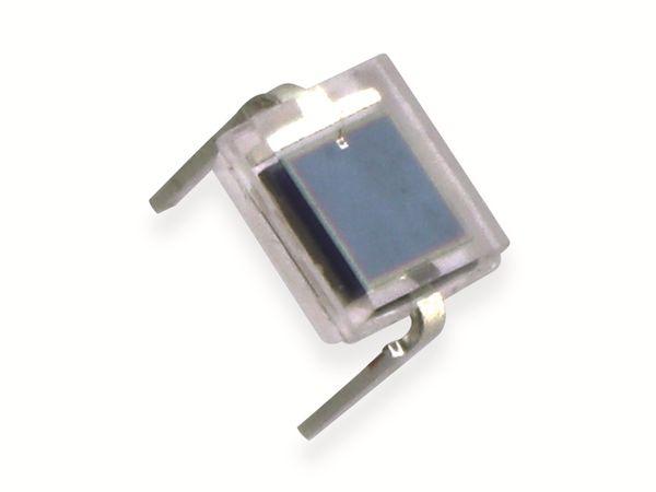 Fotodiode, VISHAY, BPW34, für Tageslicht und Infrarot, wasserklar, Gehäuse rechteckig