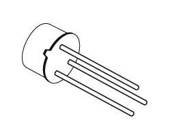 Transistor BC141-16, NPN, 60 V, 1 A, 0,8 W, TO39
