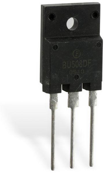 Hochspannungs-Leistungstransistor mit Damper-Diode BU508DF