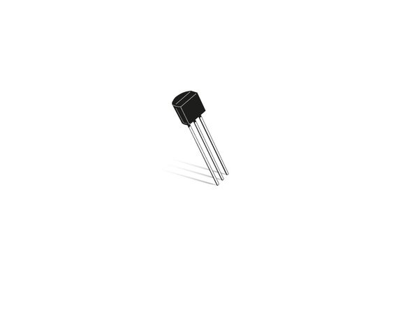 Transistor BC337-40, NPN, 50 V, 0,8 A, TO92