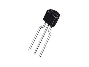 Kleinleistungs-Transistor BC556, 10 Stück