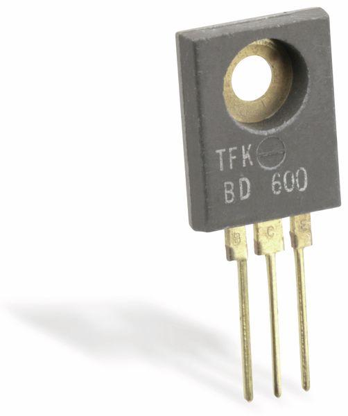 Nostalgie Silizium-Transistor TFK BD600