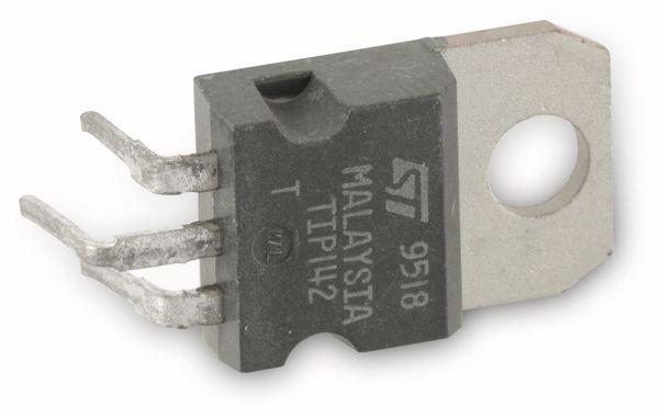 Transistor TIP142, NPN-Darl., 100V, 10A, 125W, TO247