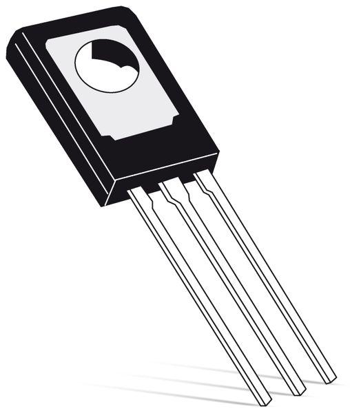PNP-Transistor TESLA KF470