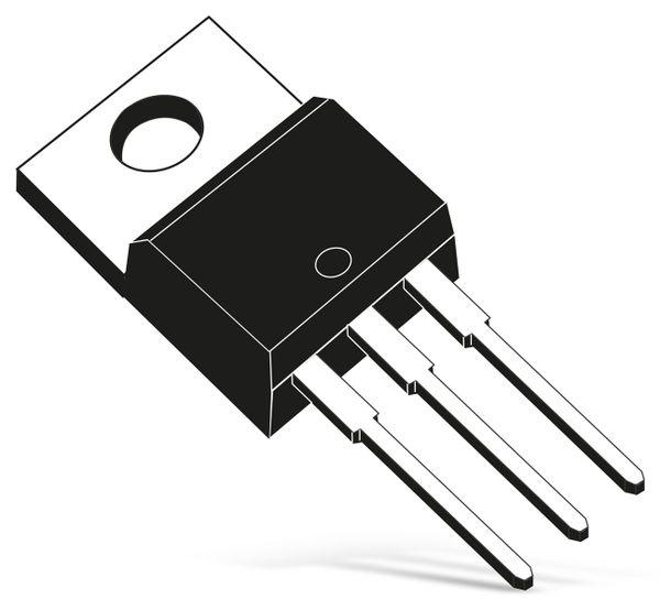 Hochspannungs-Leistungstransistor 2N6497