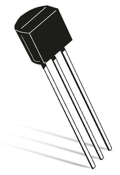 J-FET, Kleinsignaltransistor, ON Semiconduktor, J175, P-Channel, TO-92