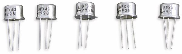 Transistor BFX40, 5 Stück