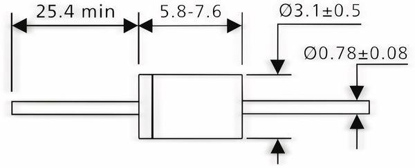SB160 - 1 A - 60 V - Produktbild 2