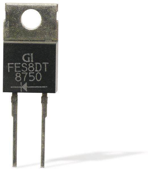 FES 8 DT, 8A/200V, TO 220