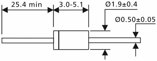 BAT 46 Schottky Diode 100 V, 0,15 A - Produktbild 2