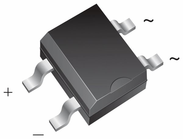 SMD Brückengleichrichter VISHAY MB4S, 10 Stück