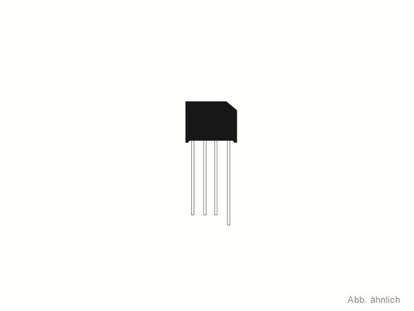 Gleichrichter TAIWAN-SEMICONDUCTOR KBP152G, 1,5 A, 100 V