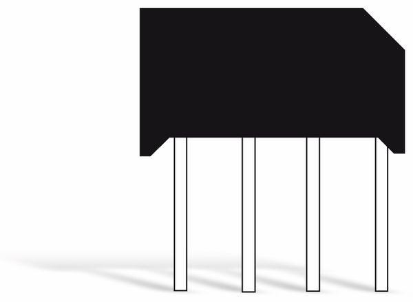 Gleichrichter TAIWAN-SEMICONDUCTOR D2SB40, 1,5 A, 400 V