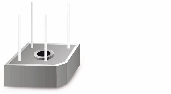 Gleichrichter FAGOR FB2502L, 25 A, 200 V