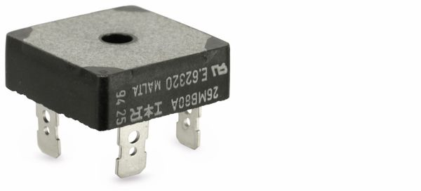 Gleichrichter TAIWAN-SEMICONDUCTOR GBPC2506, 25 A, 600 V