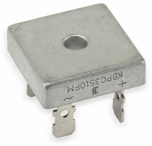 Brückengleichrichter DIOTEC KBPC3510FM, 700 V/35 A