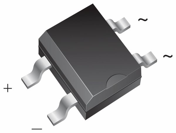SMD Brückengleichrichter DF10S, 1 A, 1000 V
