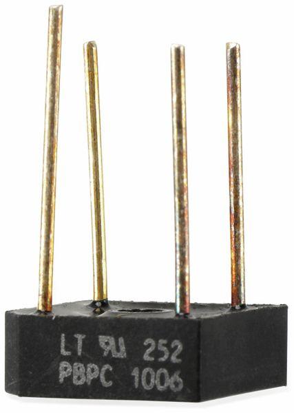 Gleichrichter, LITEON, PBPC 1006,10 A, 800 V