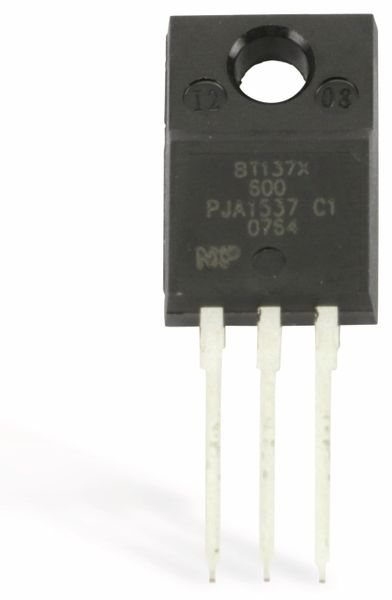 Triac NXP BT137X-600