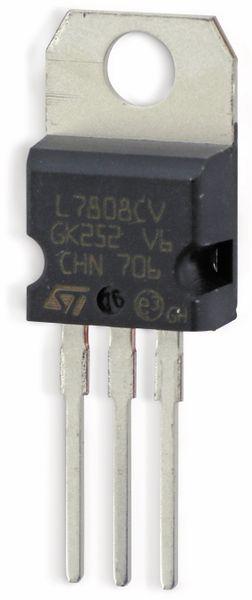Spannungsregler ST L7808CV - Produktbild 3