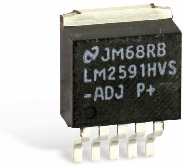 SMD Spannungsregler NATIONAL LM2591HVS-ADJ SIMPLE SWITCHER® - Produktbild 2