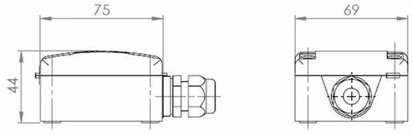 Außentemperaturfühler mit Sensor PT1000 - Produktbild 2