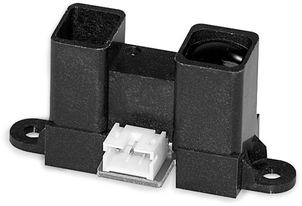Distanz-Sensor GP2Y0A41SK0F-KIT, SHARP, 40-300 mm, 5V, incl. Kabel