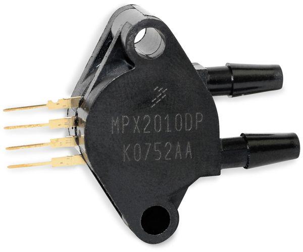 Drucksensor MP2010DP, FREESCALE, 0 ... 10 kPa, 2,5 mV/kPa - Produktbild 1