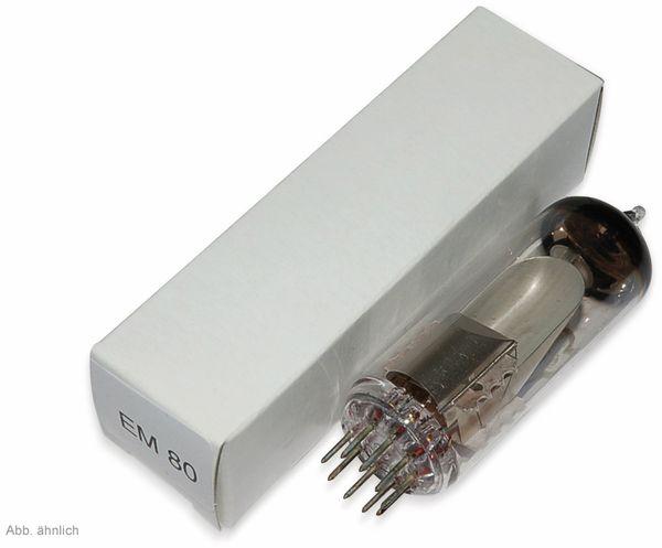 Elektronenröhre, EM80 oder äquivalent 6E1P
