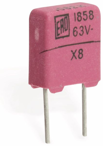 Folienkondensator ERO MKC 1858, 0,082 µF, 63 V-