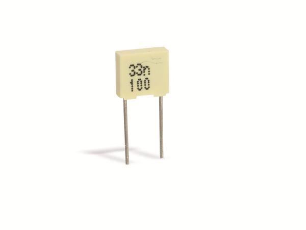 Folienkondensator, 33 nF, 100 V-