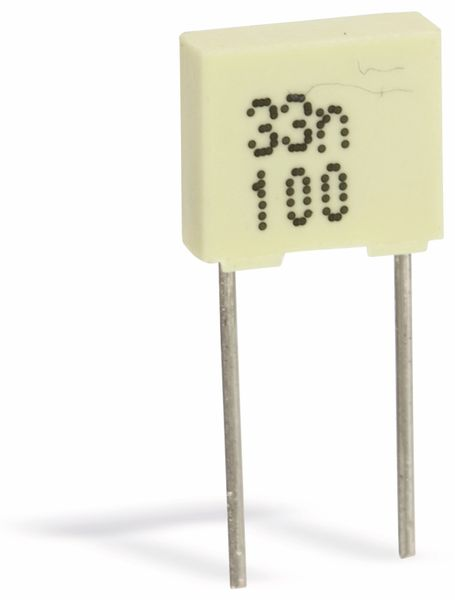 Folienkondensator, 4,7 nF, 400 V-