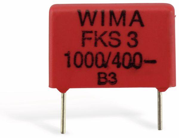 Folienkondensator WIMA FKS3, 1 nF, 400 V-