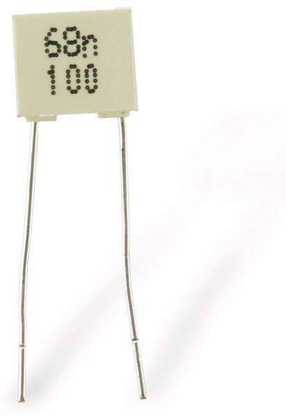 Folienkondensator KEMET R82, 68 nF - Produktbild 1