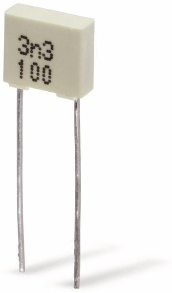 MKT-Kondensator 3,3 nF/ 100 V-
