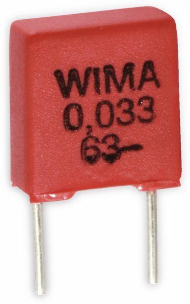 KFA434-10 Stück 330nF Kondensator Folie 0,33uF RM5 63V Gurt