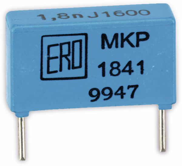 Folienkondensator ERO MKP1841