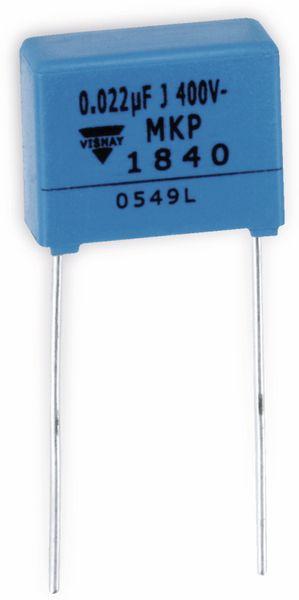 Folien-Kondensator VISHAY MKP1840, 22 nF