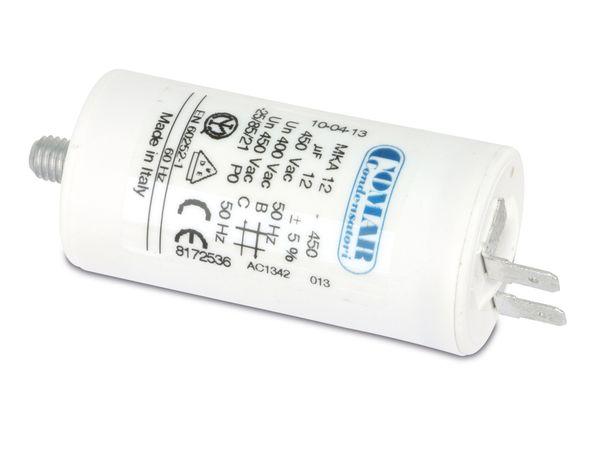 Motorbetriebskondensator COMAR MKA450, 1 µF/450 V~ - Produktbild 1