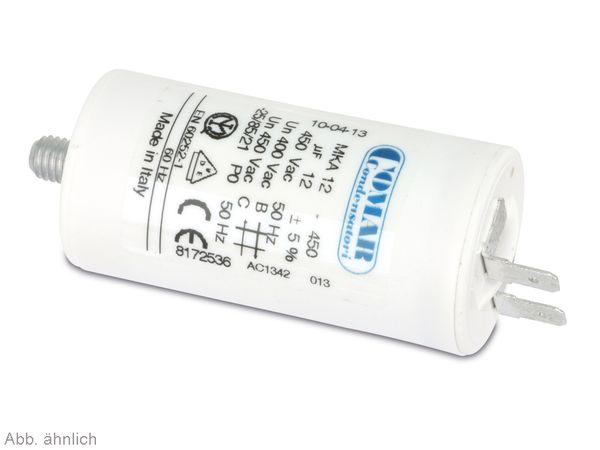 Motorbetriebskondensator COMAR MKA450, 12 µF/450 V~ - Produktbild 1