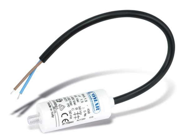 Motorbetriebskondensator COMAR MKA450, 1 µF/450 V~