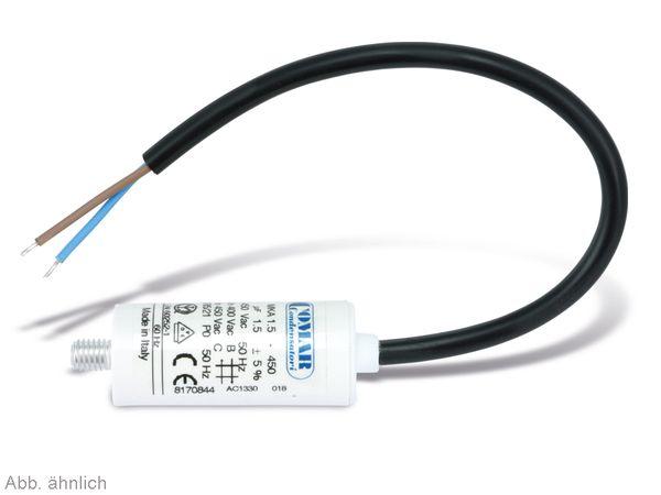 Motorbetriebskondensator COMAR MKA450, 1,5 µF/450 V~ - Produktbild 2